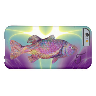 COLORFUL RAINBOW TROUT Monogram Barely There iPhone 6 Case