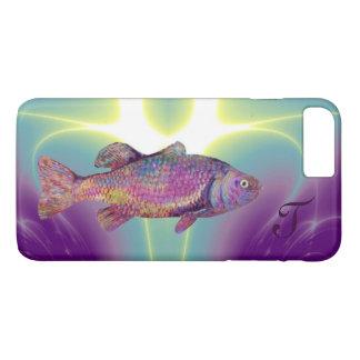 COLORFUL RAINBOW TROUT Monogram iPhone 8 Plus/7 Plus Case