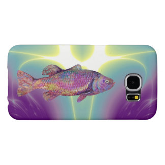 COLORFUL RAINBOW TROUT SAMSUNG GALAXY S6 CASE