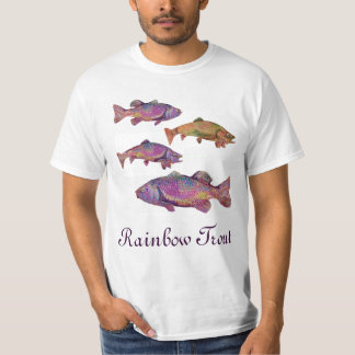 COLORFUL RAINBOW TROUT T-Shirt