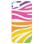 Colorful Rainbow Zebra Print Pattern Gifts iPhone 5 Cases