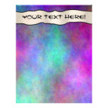 Colorful Rainbows  Scrapbook Pages - 02 Customized Letterhead