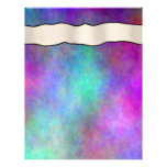 Colorful Rainbows  Scrapbook Pages - 02 Personalized Letterhead