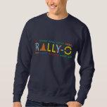 Colorful Rally-O Embroidered Sweatshirt