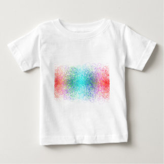 Colorful random lines and shapes baby T-Shirt