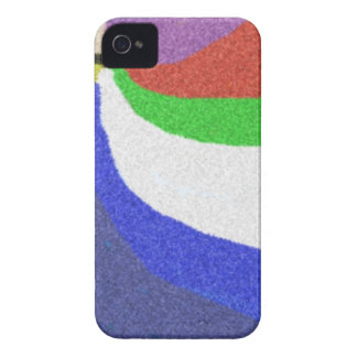 Colorful random pattern Case-Mate iPhone 4 cases