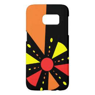 Colorful rays and triangles case