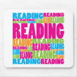 Colorful Reading Mouse Pad