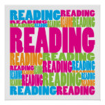 Colorful Reading Print