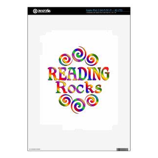 Colorful Reading Rocks iPad 3 Skin