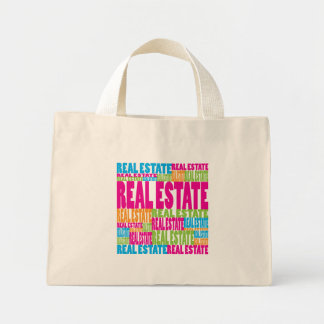 Colorful Real Estate Tote Bags