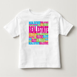 Colorful Real Estate Toddler T-shirt