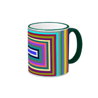 Colorful Rectangle mug