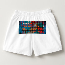 Colorful rectangles pattern boxers