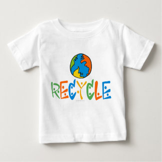 Colorful Recycling Baby T-Shirt