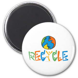 Colorful Recycling Magnet