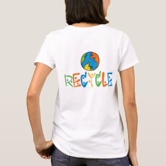Colorful Recycling T-Shirt
