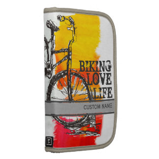 Colorful Red Bike Organizer