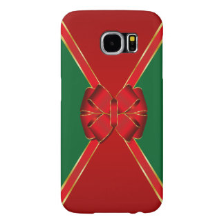 Colorful Red Bow Holiday Samsung Galaxy S6 Cases
