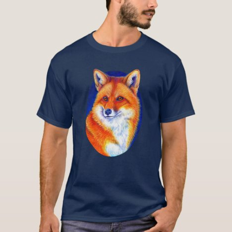 Colorful Red Fox T-Shirt