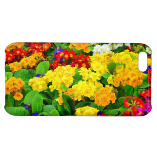 Colorful Red, Yellow, purple White Flowers iPhone 5C Case