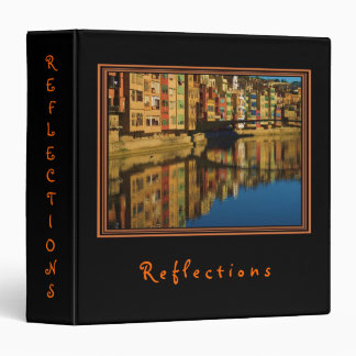 Colorful Reflections Binder