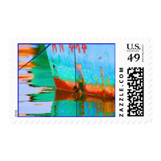 Colorful reflections Stamp