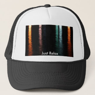 Colorful reflections trucker hat