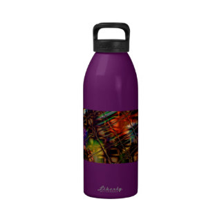 Colorful Reflections Water Bottle