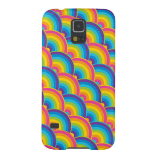Colorful Repeating Rainbow Pattern Gifts Galaxy S5 Cover