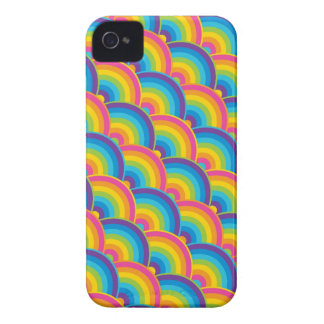 Colorful Repeating Rainbow Pattern Gifts Case-Mate iPhone 4 Case