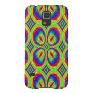 Colorful repeating stylish pattern galaxy s5 cover