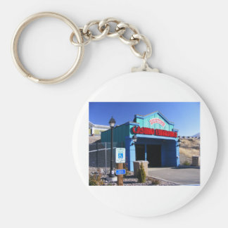 Colorful Rest Stop Keychain