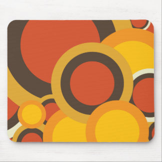 Colorful Retro Abstract Mouse Pad