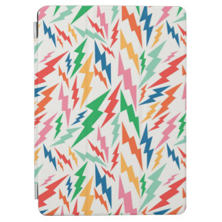 Colorful, Retro Bolt Pattern. iPad Air Cover