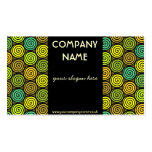 Colorful Retro Business Card Business Card Template