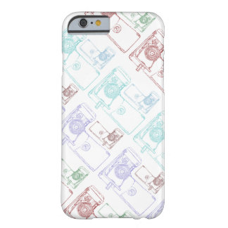 Colorful Retro Camera illustration Barely There iPhone 6 Case