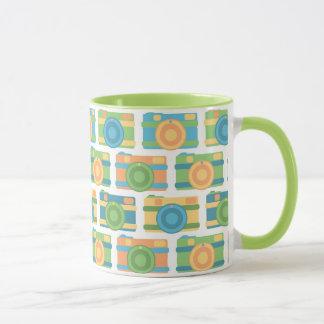 """""""Colorful Retro Cameras"""" Mug"""