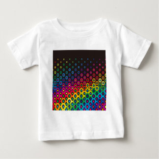 Colorful Retro Circles Chic Graphic Customize T-shirt