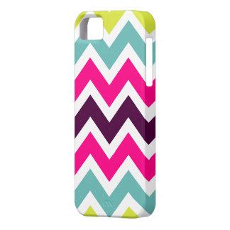 Colorful Retro Colors Chevron iPhone 5 Case
