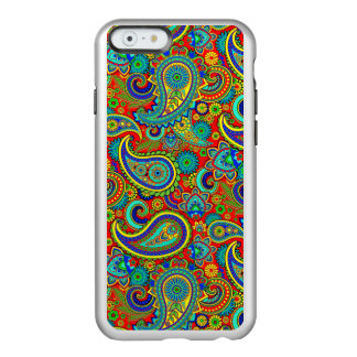 Colorful Retro Floral paisley Pattern Incipio Feather Shine iPhone 6 Case