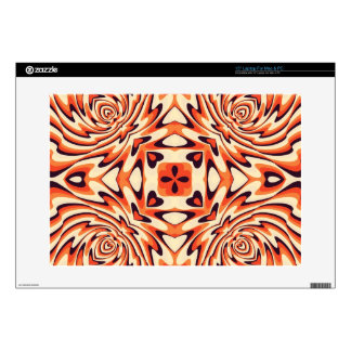"""Colorful Retro Floral Seamless 15"""" Laptop Skins"""