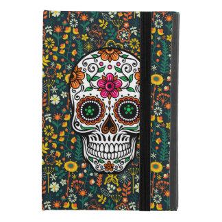 Colorful Retro Floral Sugar Skull iPad Mini 4 Case