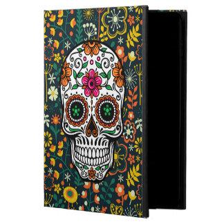 Colorful Retro Floral Sugar Skull Powis iPad Air 2 Case
