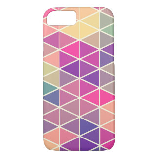 Colorful Retro Geometric Pattern iPhone 7 case