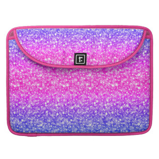 Colorful Retro Glitter And Sparkles 2 MacBook Pro Sleeve