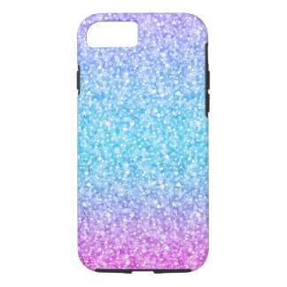 Colorful Retro Glitter And Sparkles iPhone 7 Case
