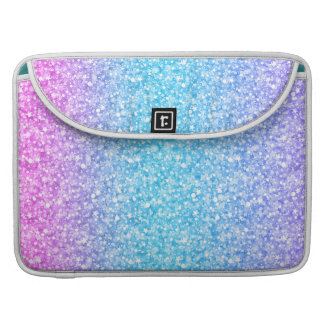Colorful Retro Glitter And Sparkles MacBook Pro Sleeve