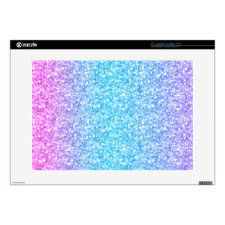Colorful Retro Glitter And Sparkles Skins For Laptops