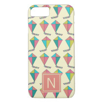 Colorful Retro Kite Pattern iPhone 8/7 Case
